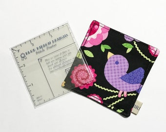 Stitch Starter Ruler and Ruler Pocket Sleeve
