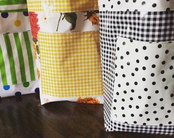 Oilcloth Market Bags