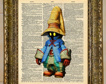 Final Fantasy IX Vivi Dictionary Art