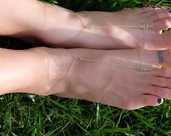 bridal barefoot sandals bridesmaids foot jewelry wedding shoes beach wedding destination wedding