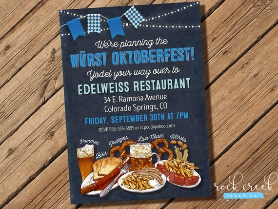 oktoberfest einladung oktoberfest biergarten oktoberfest, Einladung
