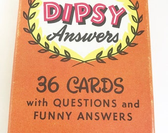 Childrens game vintage playing cards