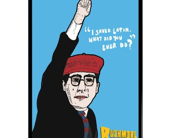 Rushmore (Wes Anderson) A3 (42x30cm) Giclee Framed Print