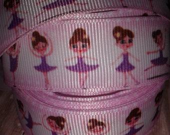 Little Ballerinas  #3 Grosgrain Ribbon