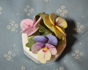Vintage Bouquet of China Flowers by Aynsley