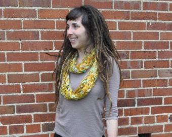 Homespun Art Yarn Infinity Scarf