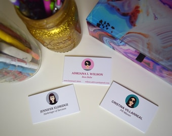 Personalized Calling or Business Cards (50)