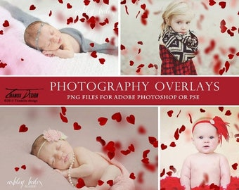 ON SALE Photography Valentine's Day Heart Overlays, Heart Photo Overlays, Photoshop overlays