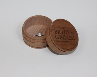 Marry Me/Ring Box/Wood Box/Personalized/Engagement/Custom/Ring/Will you Marry Me/Engraved