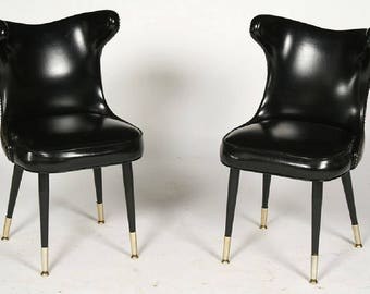 Mid Century Pair Chairs