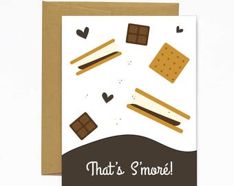 That's S'More! Greeting Card
