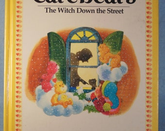 Vintage-1983- Care Bear-Book-The Witch Down The Street-Parker Brothers-