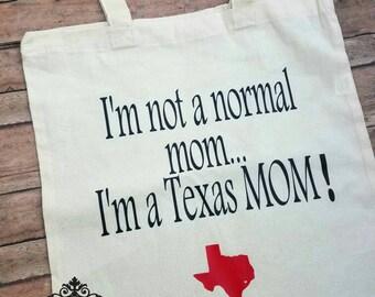 Texas mon tote bag  Funny reusable tote bag    bag   Reusable grocery bag   Grocery bag   Tote bag