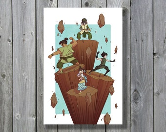 Avatar: The Last Airbender - Lily Livers Print