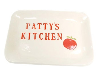 Italian decor etsy for Italian kitchen gifts