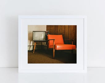 Motel Room Decor - Urban Exploration - Fine Art Photography