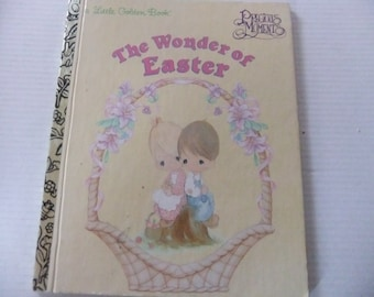 Little Golden Book The Wonder of Easter Precious Moments