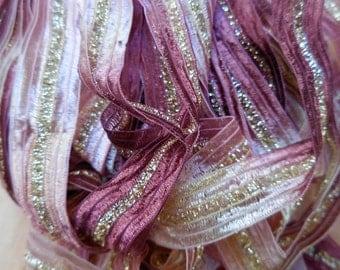 3 Yards, Turkish Ribbon,  Cinnamon Sugar,  Decorative Ribbon