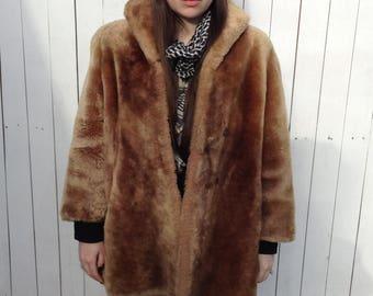 Mink Coat, Vintage Fur Coat