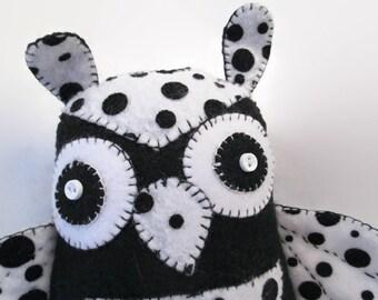Owl - Polka Dots