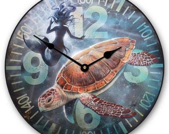 Mermaid Wall Clock 2