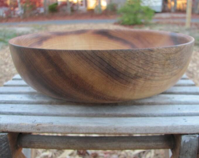 Myrtle Wood Fruit Bowl, Salad Bowl, Table Centerpiece, Table Decor