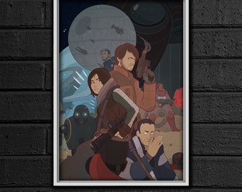 Rogue One Print