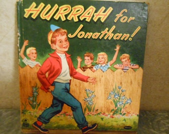 1955 ( Hurrah for Jonathan! ) Children's Book