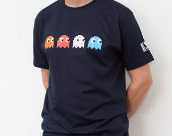 Pacman Ghosts Men's T-Shirt