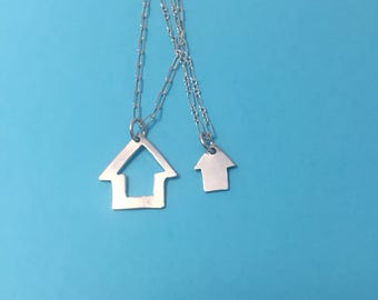 Couple Connected Necklace: We Are Home