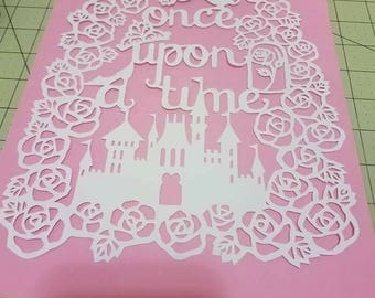 Once Upon A Time Papercut