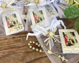 20 Communion Favors/ recuerdos de comunion/ comunion favors prayer books/ recuerditos bautismo/recuerdos de primera Comunion/