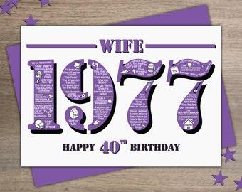 voeux 40e anniversaire de naissance