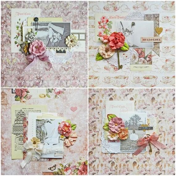Wedding Scrapbook Kit: Wedding Scrapbook Kit / Tutorial / Wedding Album / Step By