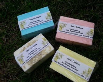 Mango, Shea, and Cocoa butter- Triple Butter Soap Excellent for eczema!!!!