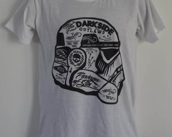 Men's Stormtrooper Graffiti T-Shirt - Tattoo Darth Vader Funny Alternative - UK S M L