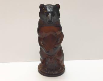 Vintage Avon, Kodiak Bear Decanter, It is EMPTY