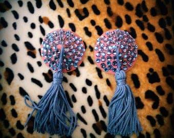 Pasties Burlesque / pastilles / costume / cache mamelon