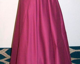 "1890's Skirt / Reproduction Skirt/ La Belle Epoque /Circular Bell /29"" Waist"