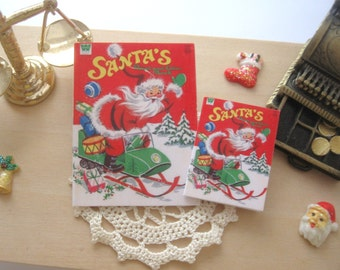 dollhouse christmas colouring book vintage themed 12th or 6th scale miniature lakeland artist Rainbowminiatures