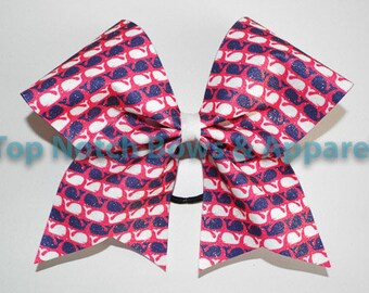 Whale Cheer Bow