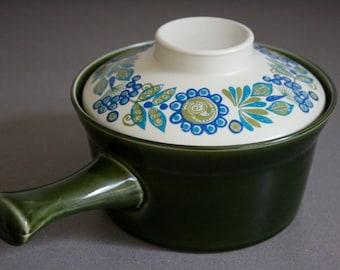 Vintage Mid Century Stavangerflint Ildfast Flameproof Saucepan, Figgjo Flint, Tor Viking