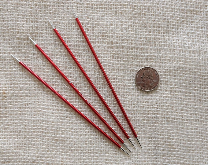 "Signature Needles Size 2 - Stiletto Tip -  needle is 6"" long - set of 4"