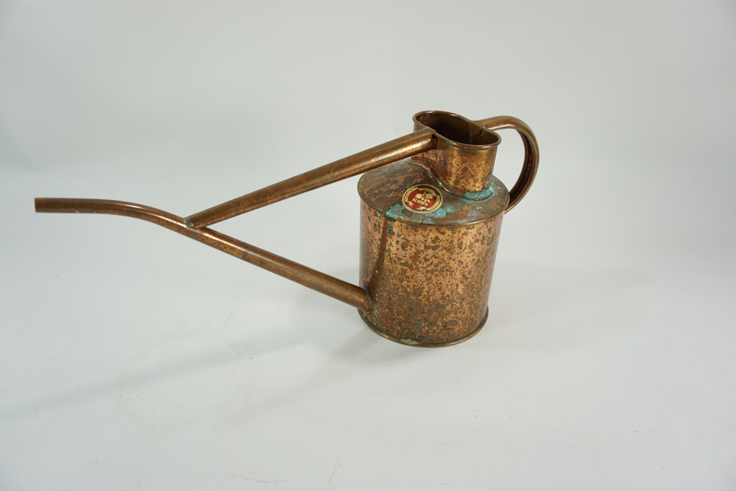 Haws watering can copper metal watering can sprinkling can - Haws copper watering can ...