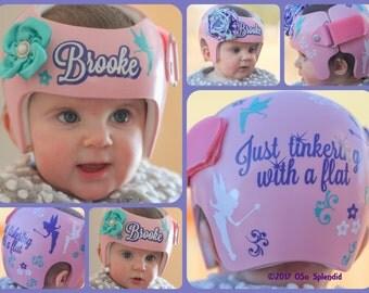 Plagiocephaly Etsy - Baby helmet decals