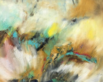 """Original abstract oil painting Wall art Abstract art Painting on Canvas Art Modern artwork Contemporary painting Canvas 24""""x31"""""""