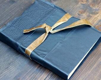 Black Leather Bristol Sketchbook