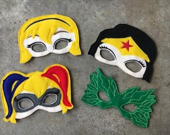 DC superhero girls masks