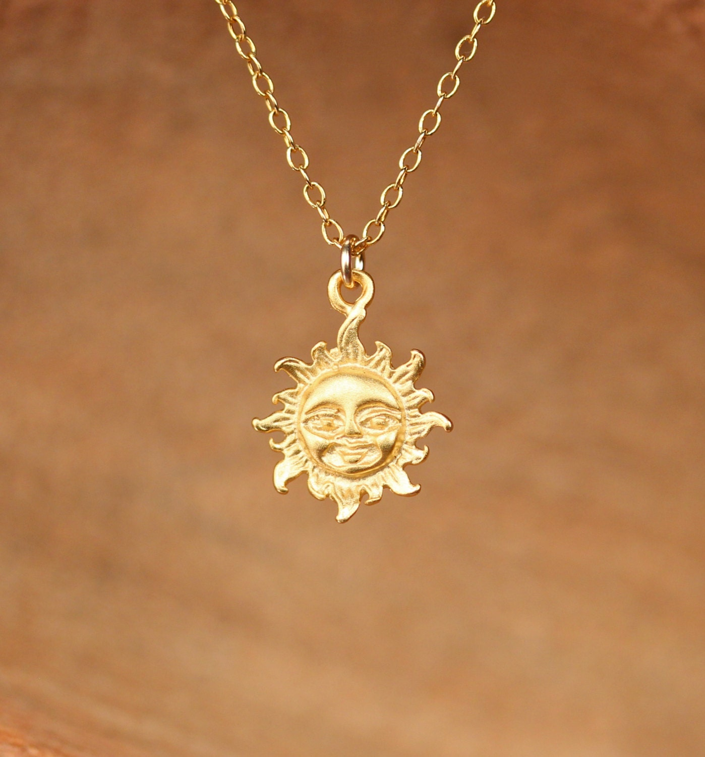 Gold Sun Necklace Www Imgkid Com The Image Kid Has It