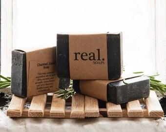Charcoal Facial Soap,  Handmade Soap, Face Soap, Natural Soap, Vegan Soap,  Artisan Soap, Bar Soap, Gift, Gift Soap, Activated Charcoal